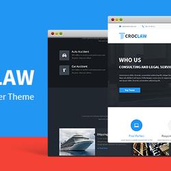 CrocLaw  Wordpress Theme