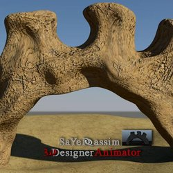 معبد - صخور  3D modeling