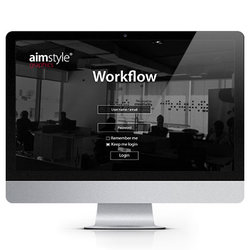 Aimstyle graphic workflow website