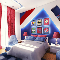 A Super hero Bedroom