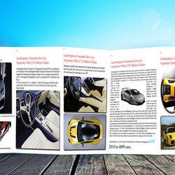 مجله عن سيارة اللامبورجيني