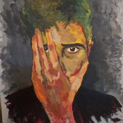 Acrylic Portrait ~ Painting