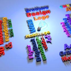 3D texts