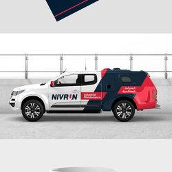Nivron Brand identity design