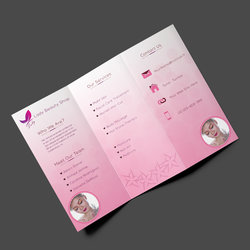Beauty Tri-Fold Brochure