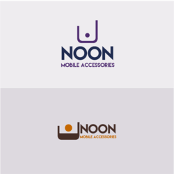 project of Logo for NOON mobile center