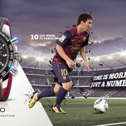 SEIKO WATCH BARCELONA ADS