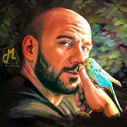 رسم احمد مكي