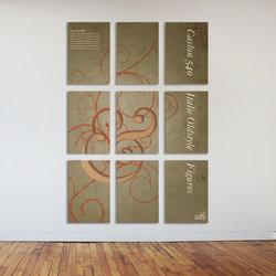 Caslon (Typo Mural poster)