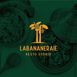 LA BANANERAIE logo design