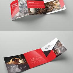 Brochure Template Coffee