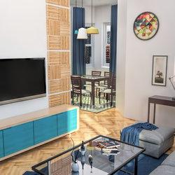 Minimalist Living Room Apartment