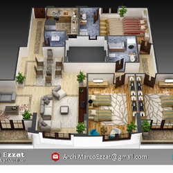 Apartment, New Cairo, Egypt