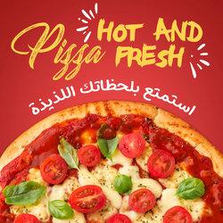 social media pizza