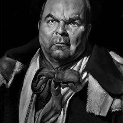 Portrait: Old man