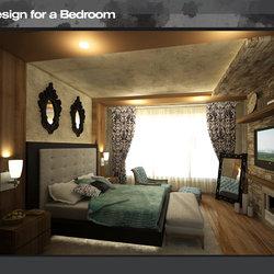 تصميم داخلي لغرفة نوم