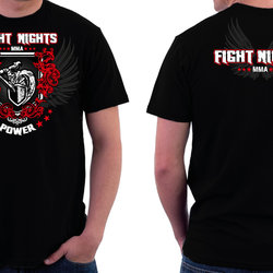 Fight nights T shirts design (Russia)