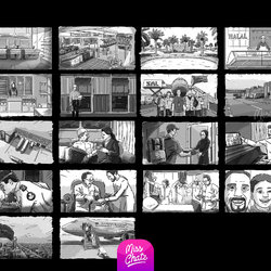 Storyboard Staging Cinematic Storytelling