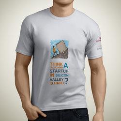 "T-Shirt "" Mercy Corps & Gaza Sky Geeks """