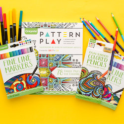 Illustrations for Crayola and Brit + Co