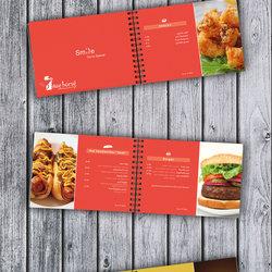 Resturant menu & print