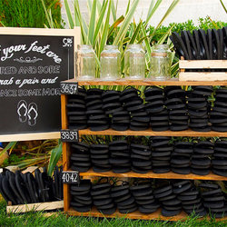 Chalk Illustrations and Signage for a Rustic Event