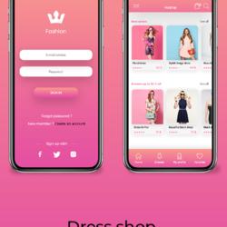 Fashion - Mobile Application Ui/Ux