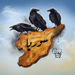 syria كاريكاتير سوريا