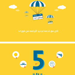 Renew your Car license with Fawry