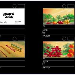SUNICH TVC STORYBOARD/ Blackstone Dubai