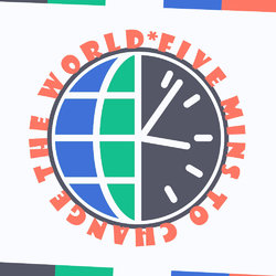 logo - Five Mins To Change The World