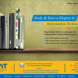 Earn a Degree in IT