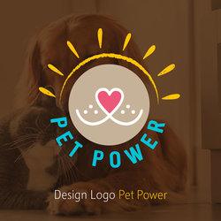Logo Pet Power design