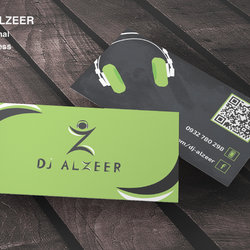 visit card for dj alzeer