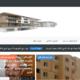 تصميم أخر لموقع الشركة العربية للإستثمار العقاري