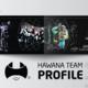 تصميم شعار وبروفايل احترافي لفريق هوانا Hawana Team