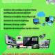 نشرة إعلانية لشركة شبكة الكمبيوتر