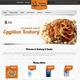 Koshary El Basha Website - Jordan