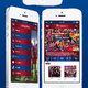 تصميم تطبيق يخدم مشجعي نادي برشلونة