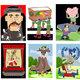 عينات من اعمال كاريكاتيرية