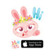 Happy Easter iMessage Stickers