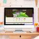 تصميم موقع انترنت شركة صناعات دوائية عشبية