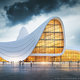 (Simulation of Zaha Hadid Architect Project (Heydar Aliyev Center