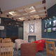 Caribou coffee interior & exterior design