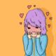 Blushing Character