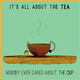 Tea Ad Illustration