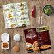 قائمة مأكولات Menu خاصة بمطعم وجبات سريعة