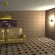 مشهد لغرفة 3d