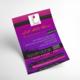 """تصميم مطبوعة A4 للمسابقة الرمضانية """"مشاهد عمانية"""""""