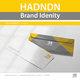( Hadndn Brand Identity ) الهوية البصرية لشركة الحدندن